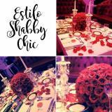 Estilo Shabby Chic (Ambientación y Centros de Mesa)