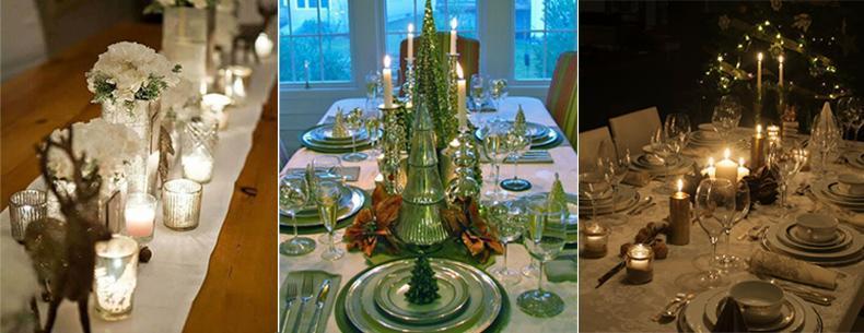 Mesas navideñas y centros de mesa. Como decorar nuestra mesa de navidad.