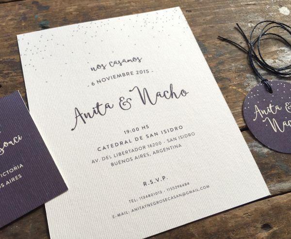 tarjetas de casamiento