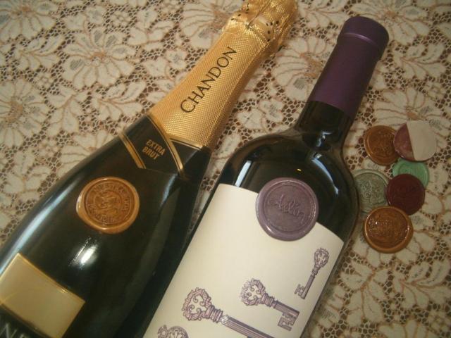 Botellas lacradas | Casamientos Online