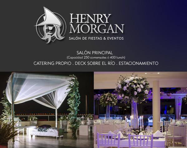 Henry Morgan (Salones, Quintas y Estancias)