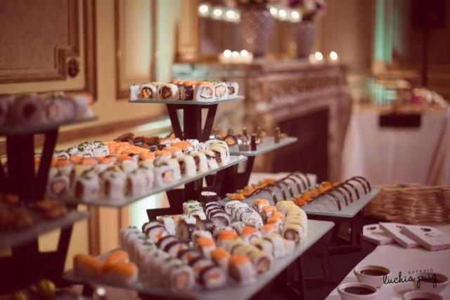 Isla de sushi | Casamientos Online