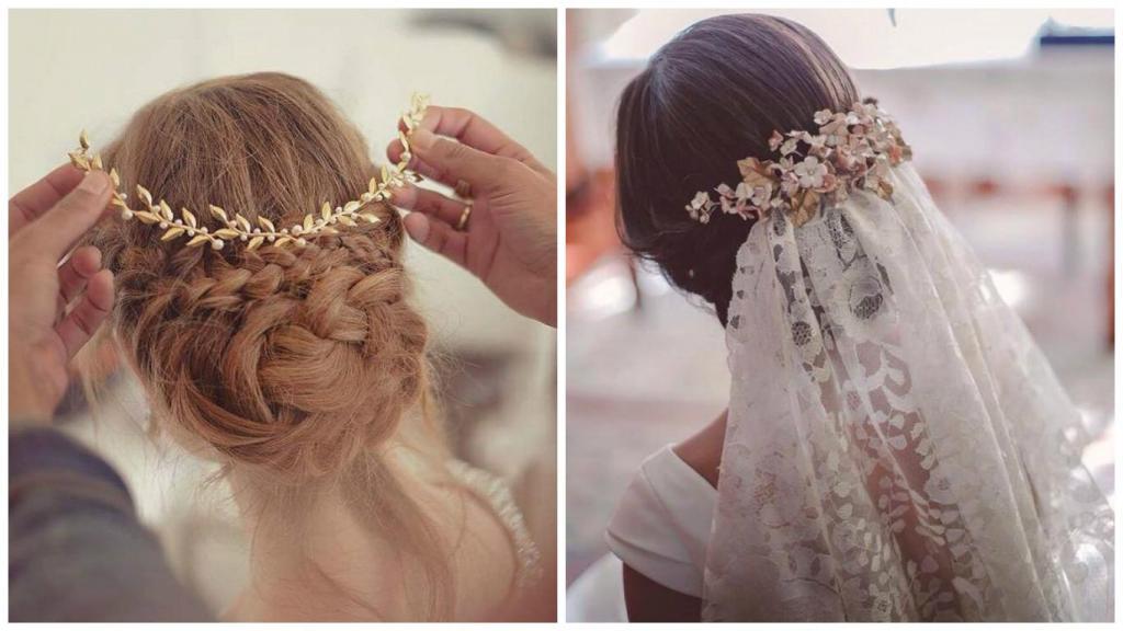 velos para novias - Peinados De Novia Con Velo