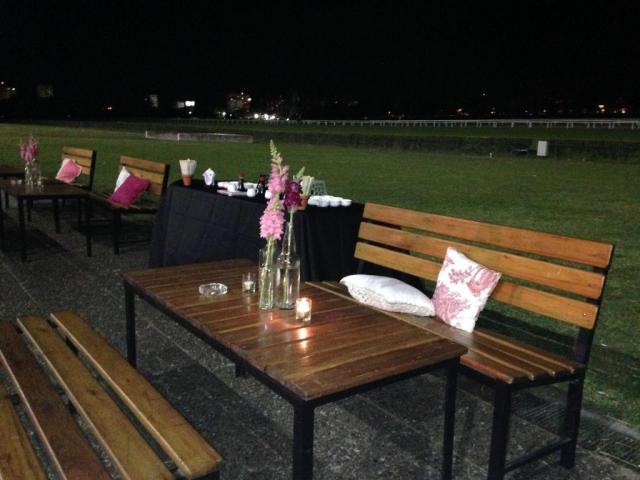 Recepción en Espacio Márquez I al exterior | Casamientos Online