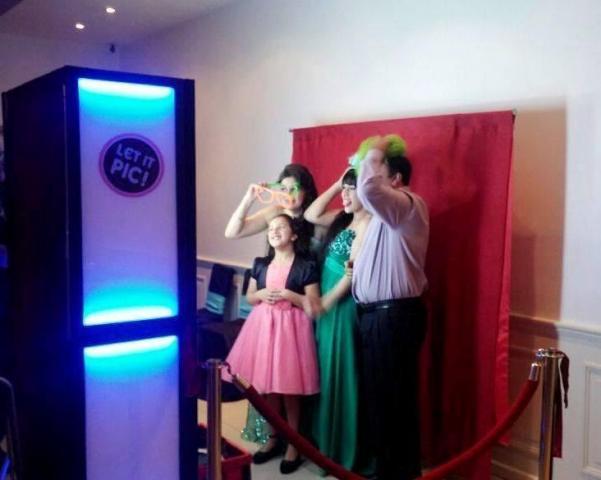 Totem de Fotos Let it Pic | Casamientos Online
