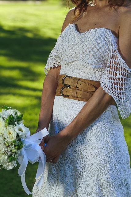 Vestdio de crochet | Casamientos Online