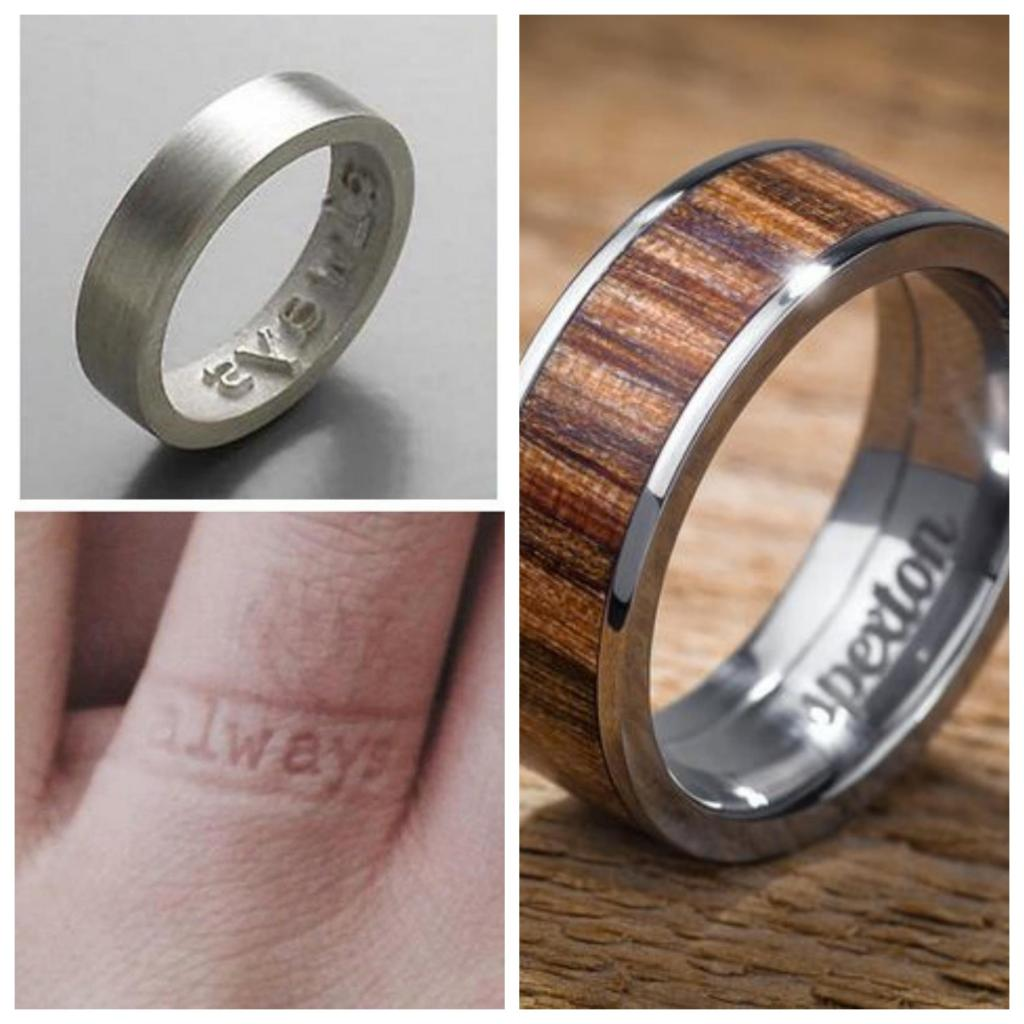 anillos de los novios