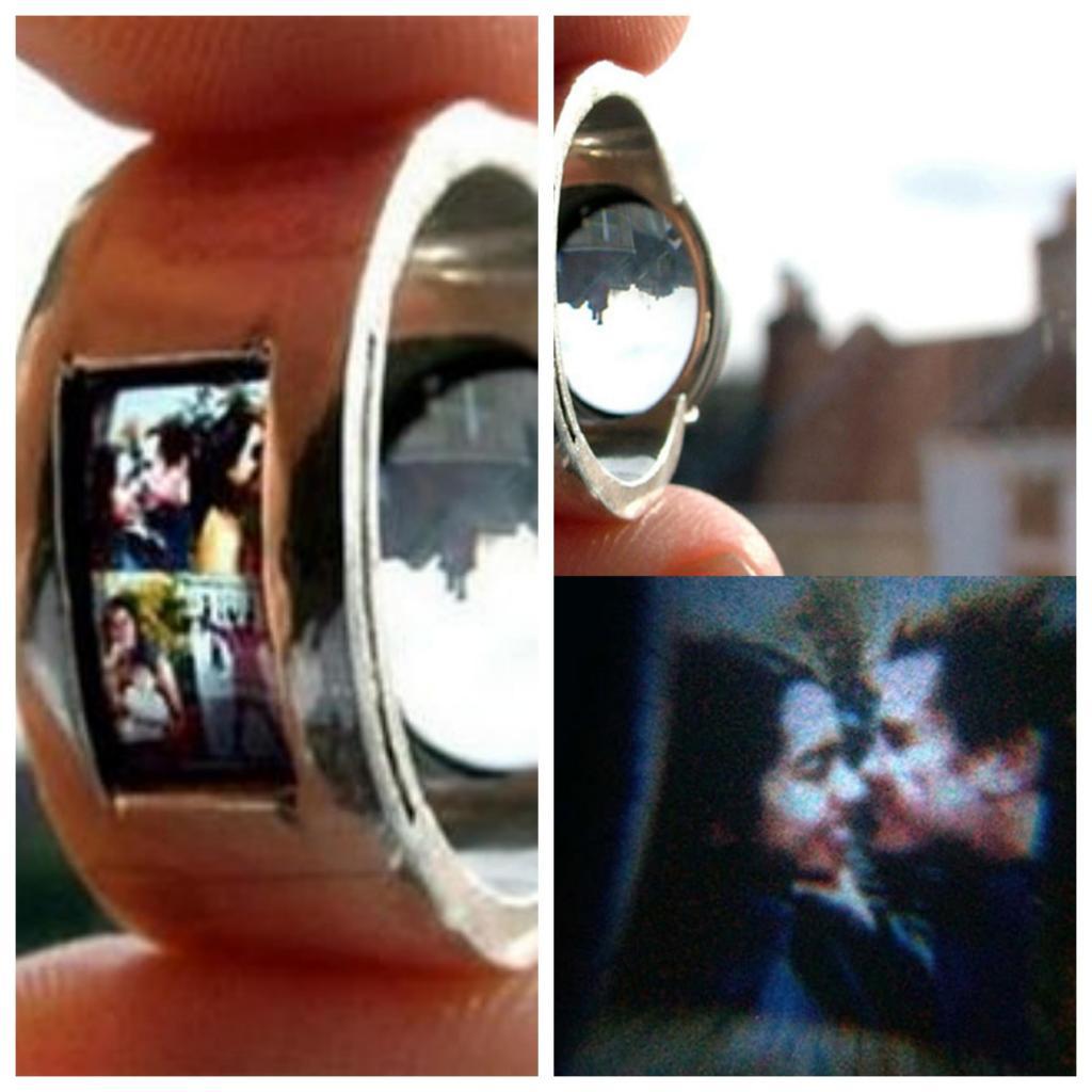 anillos de novios con fotos