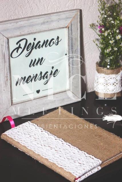 Nice Meetings (Ambientación y Centros de Mesa) | Casamientos Online