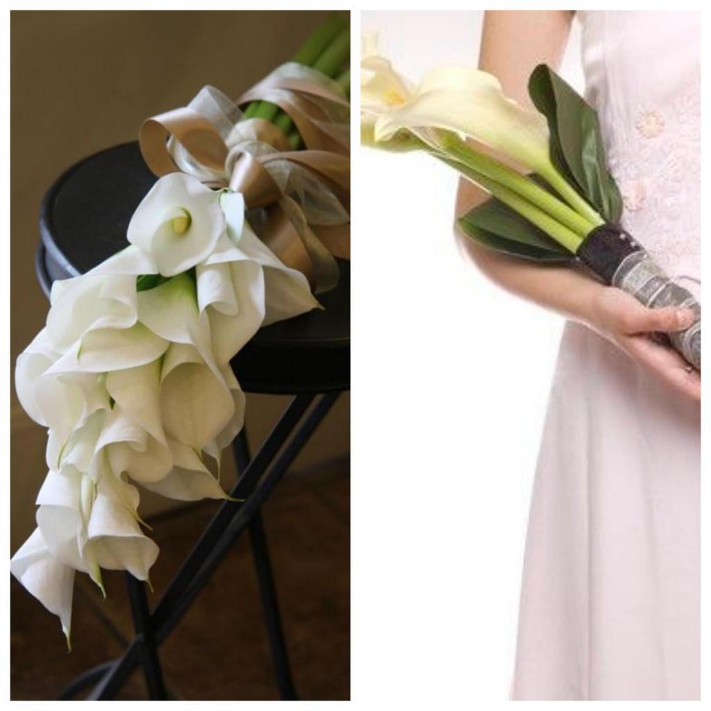 ramo de novia brazada