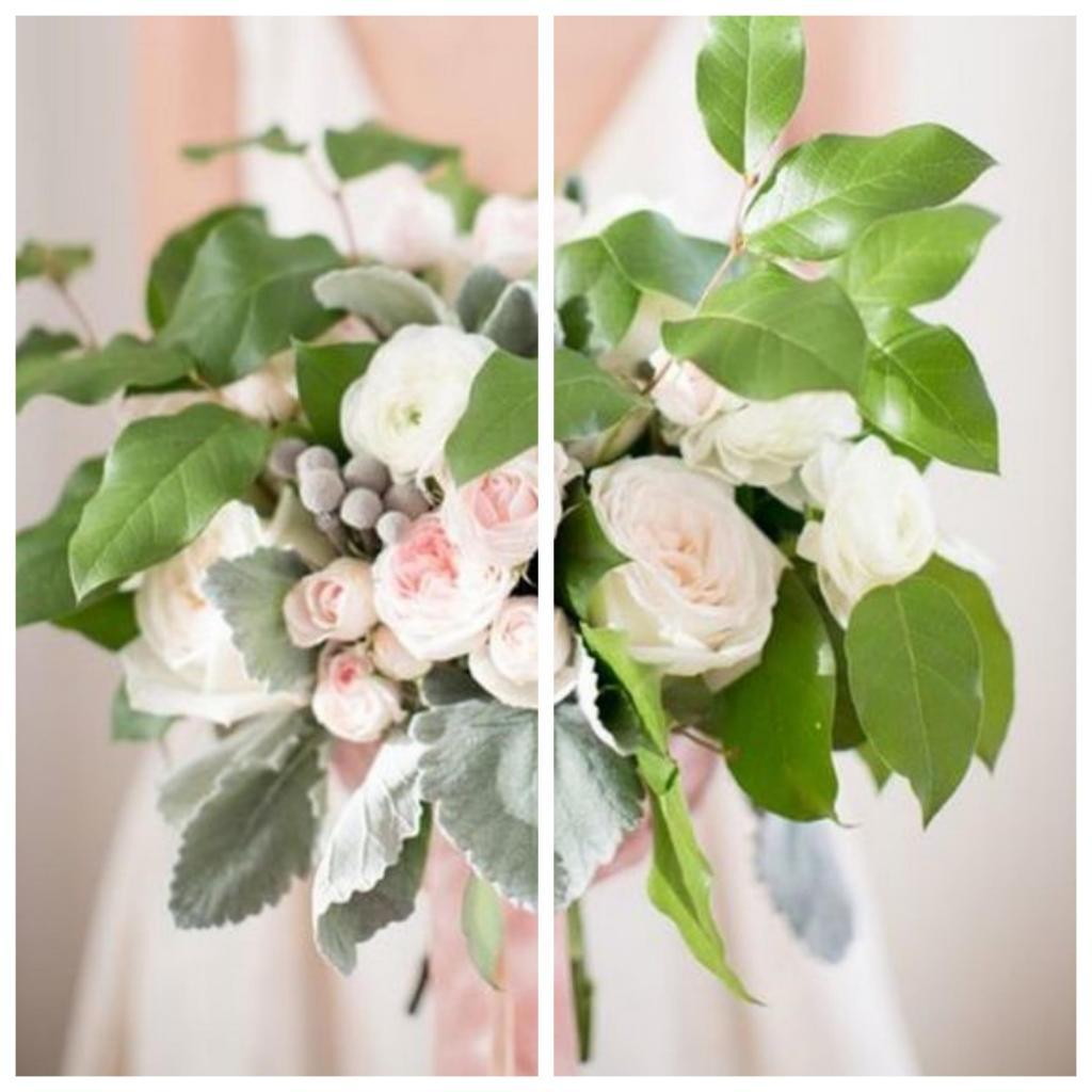 ramos de novia informales