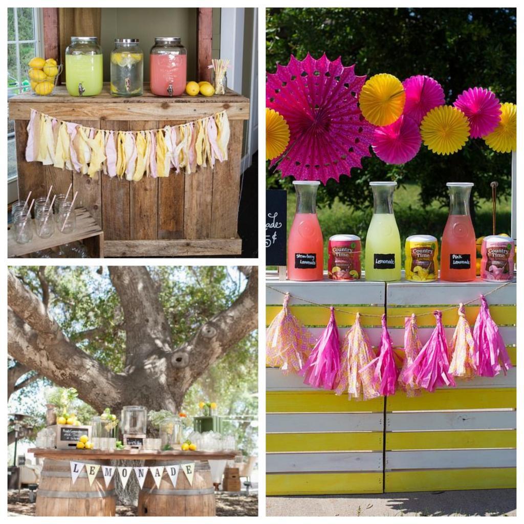 puestos de limonadas para bodas