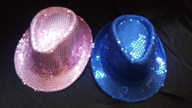Sombrero PANAMÁ Lentejuelas | Casamientos Online
