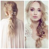 Nota de 5 peinados de novia para caras redondas