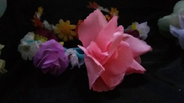 vinchas flores | Casamientos Online