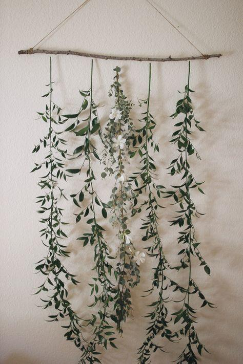 backdrop con plantas
