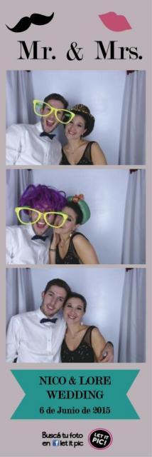 Cabina de Fotos Let it Pic | Casamientos Online