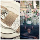 Nota de 10 elementos para un casamiento vintage
