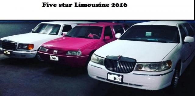 FIVE STAR LIMOUSINE (Autos para casamientos) | Casamientos Online