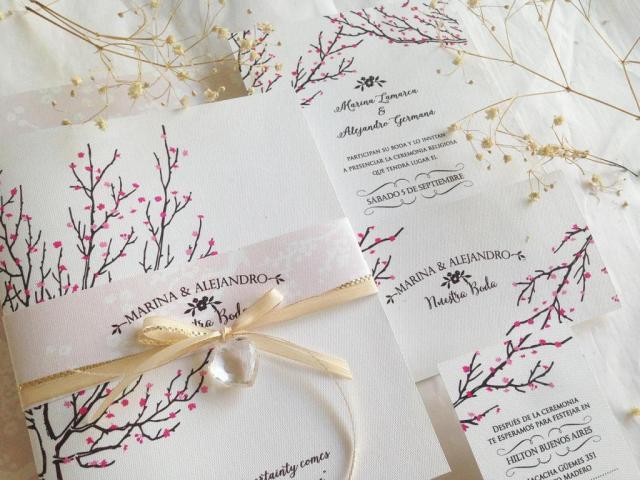 MODELO CEREZOS | Casamientos Online