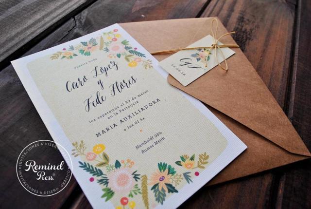 Modelo Peonias | Casamientos Online