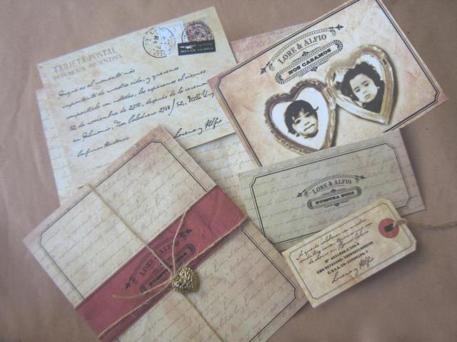 MODELO POSTAL ANTIGUA | Casamientos Online