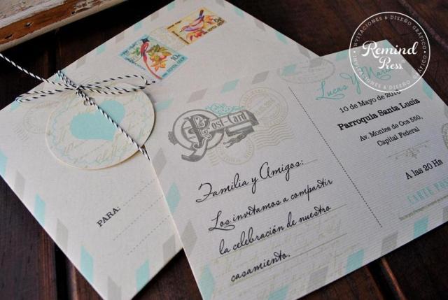 Modelo Postcard | Casamientos Online
