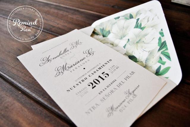 Modelo Romantic Type | Casamientos Online