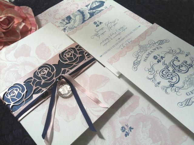MODELO BLUE FLOWERS | Casamientos Online