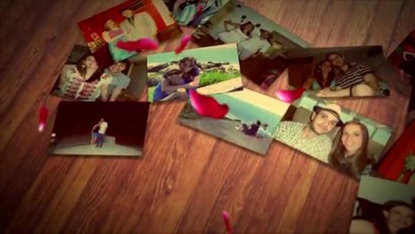 Clip cronológico de fotos