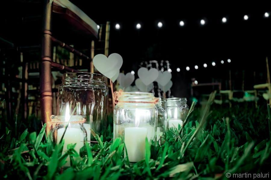 velas para la ambientacion