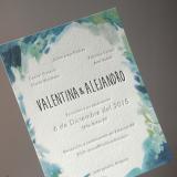 Participaciones de Casamiento en Letterpress + Offset
