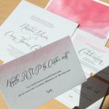 Participaciones de Casamiento Pintadas a Mano en Acuarelas