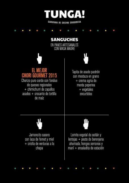 Sanguchería Gurmé con Tunga Córdoba