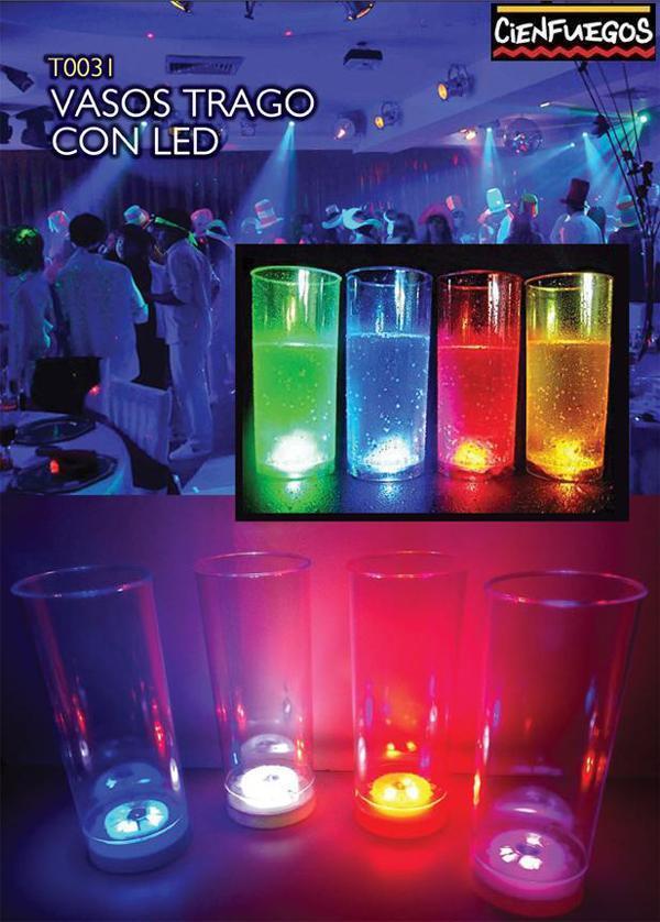 Vasos LED