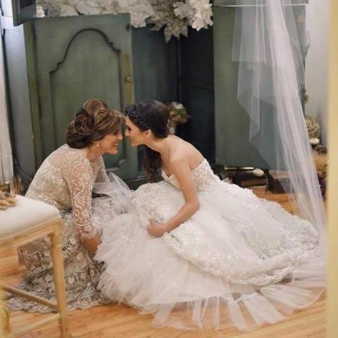 COMBO FULL WEDDING : NOVIA (Civil + prueba + Boda) + MADRINA (Boda)