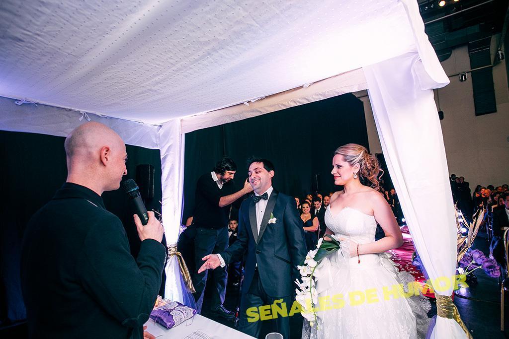 Ceremonia de casamiento stand up