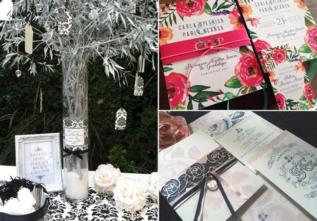 Ideas en Invitaciones Boda, Arbol de los deseos y souvenirs para Casamientos. The Lovely Card