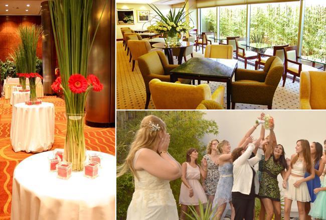 Salon para Civiles en el Hotel Melia. Propuesta con catering y ambientación