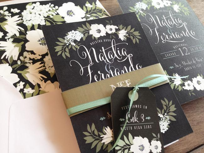 Reportaje a the lovely card invitaciones de Boda