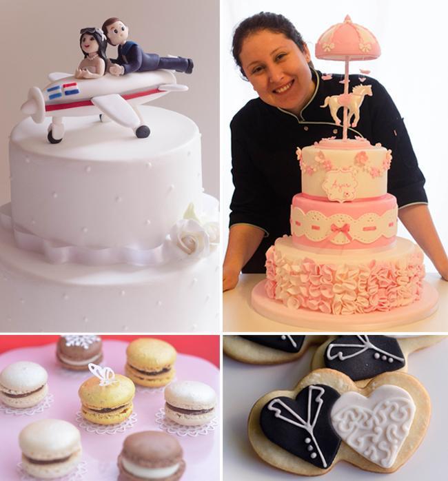 Tortas, cupcakes y Mesa Dulce para casamientos de Flopi Diaz