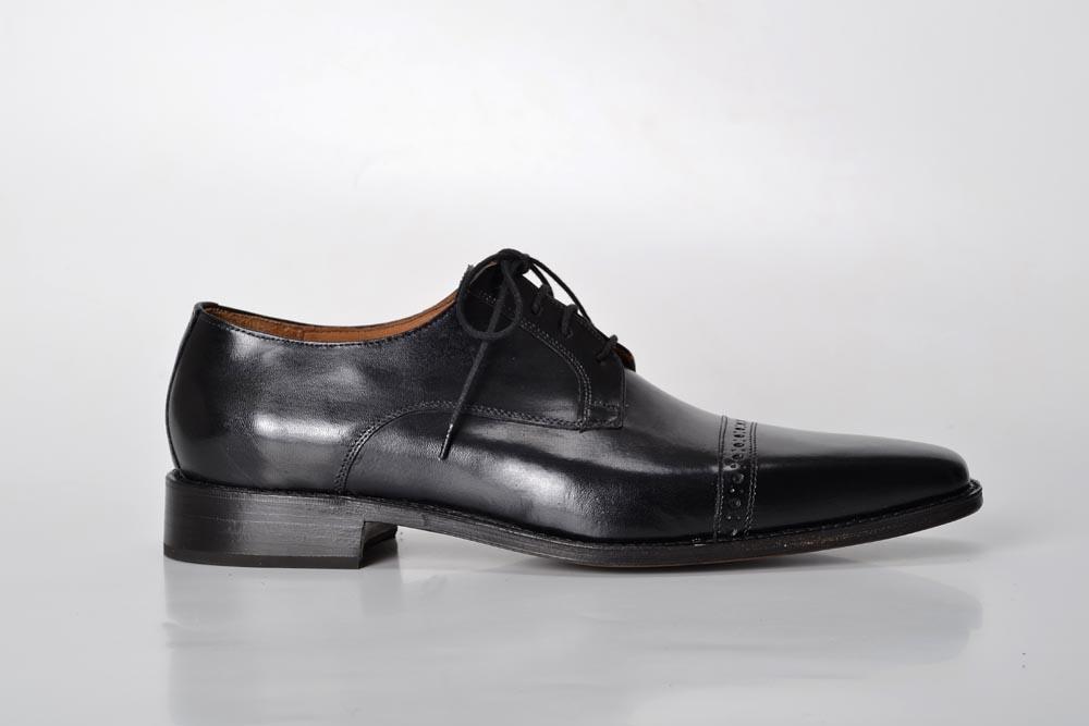 Zapatos de Cuero Color Negro