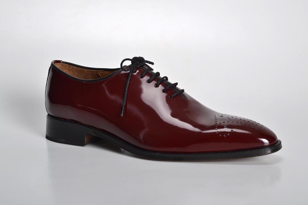 Zapatos de Charol Bordó