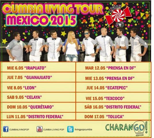 1er gira por México - DISTRITO FEDERAL