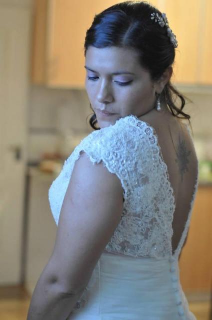 Soledad novia ceremonia religiosa | Casamientos Online