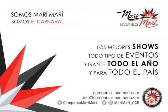 COMPARSA MARÍ MARÍ -  SHOWS DE CARNAVAL www.comparsa-marimari.com / eventos@comparsa-marimari.com / 011-15-3180-7539 | Casamientos Online