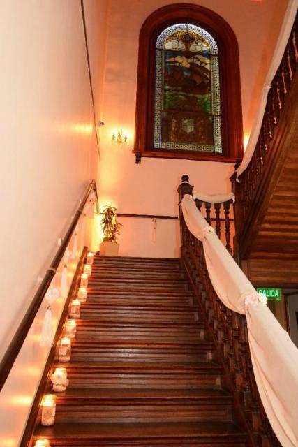 Escalera de acceso al Salón  | Casamientos Online