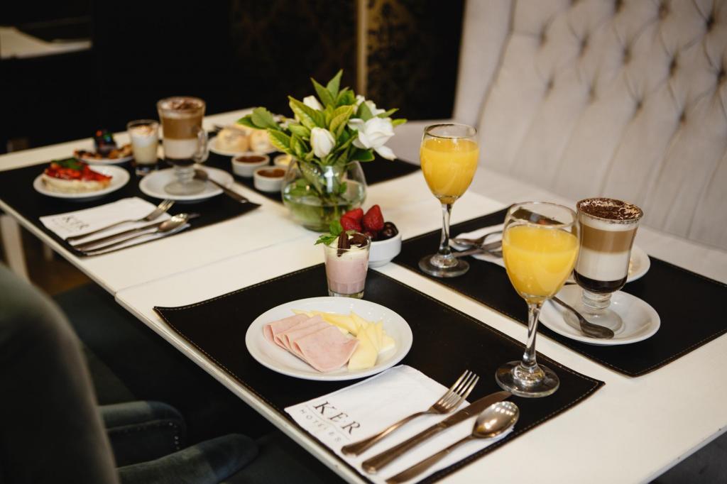 Ker Recoleta Hotel & Spa - Desayuno