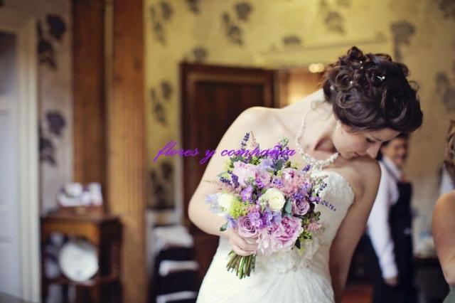 Ramo de novia en tonos pastel  | Casamientos Online