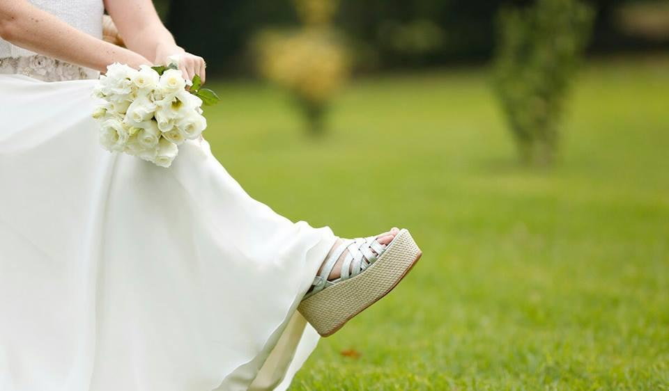 Zapatos de novia y madrina a medida. Zapatos de novia y madrina personalizados